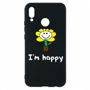 Etui na Huawei P20 Lite I'm happy