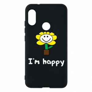 Phone case for Mi A2 Lite I'm happy