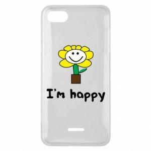 Phone case for Xiaomi Redmi 6A I'm happy