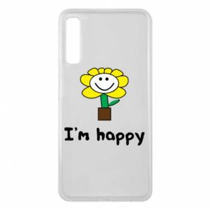 Phone case for Samsung A7 2018 I'm happy