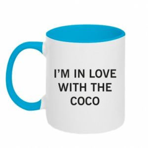 Kubek dwukolorowy I'm in love with the coco