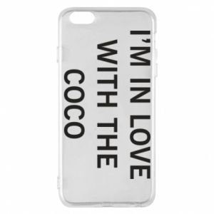 Etui na iPhone 6 Plus/6S Plus I'm in love with the coco