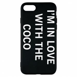 Etui na iPhone 8 I'm in love with the coco
