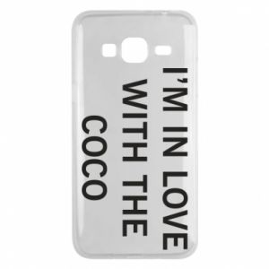 Etui na Samsung J3 2016 I'm in love with the coco