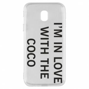 Etui na Samsung J3 2017 I'm in love with the coco