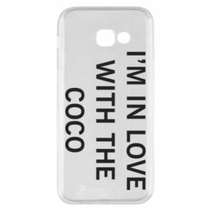 Etui na Samsung A5 2017 I'm in love with the coco