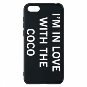 Etui na Huawei Y5 2018 I'm in love with the coco