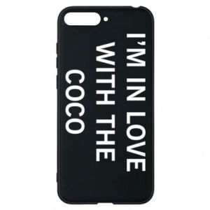 Etui na Huawei Y6 2018 I'm in love with the coco