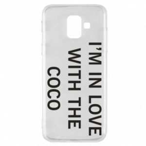 Etui na Samsung A6 2018 I'm in love with the coco