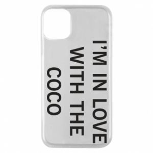 Etui na iPhone 11 Pro I'm in love with the coco