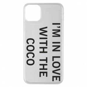 Etui na iPhone 11 Pro Max I'm in love with the coco