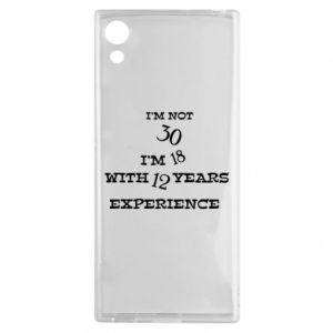 Sony Xperia XA1 Case I'm not 30
