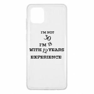 Samsung Note 10 Lite Case I'm not 30