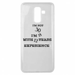 Samsung J8 2018 Case I'm not 30