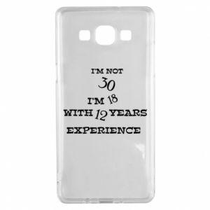 Samsung A5 2015 Case I'm not 30