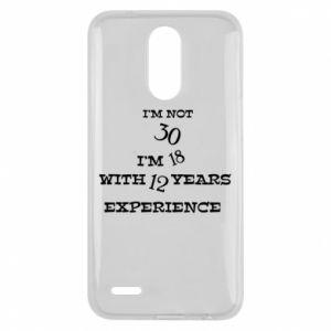 Lg K10 2017 Case I'm not 30