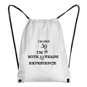 Plecak-worek I'm not 30
