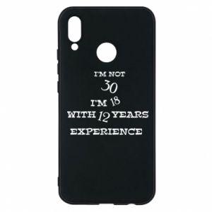 Huawei P20 Lite Case I'm not 30