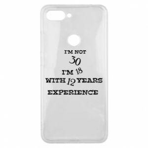 Xiaomi Mi8 Lite Case I'm not 30