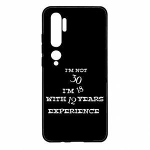 Xiaomi Mi Note 10 Case I'm not 30