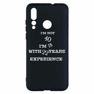 Huawei Nova 4 Case I'm not 40