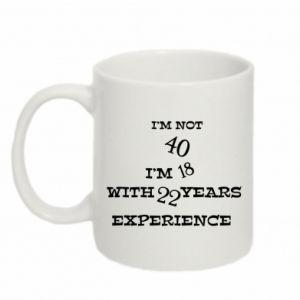 Mug 330ml I'm not 40