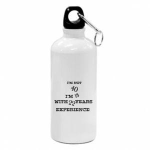 Water bottle I'm not 40