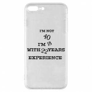 Etui na iPhone 8 Plus I'm not 40