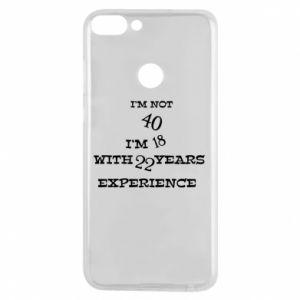 Etui na Huawei P Smart I'm not 40