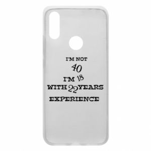 Phone case for Xiaomi Redmi 7 I'm not 40