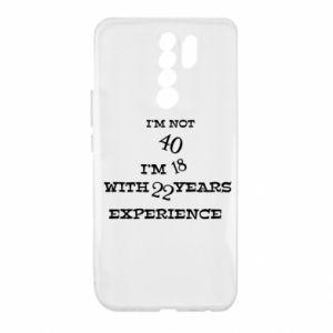 Xiaomi Redmi 9 Case I'm not 40
