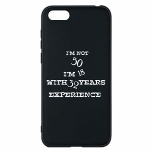 Phone case for Huawei Y5 2018 I'm not 50