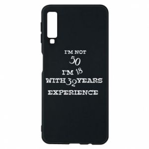 Samsung A7 2018 Case I'm not 50