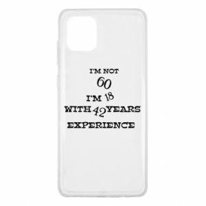 Samsung Note 10 Lite Case I'm not 60