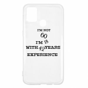 Samsung M31 Case I'm not 60