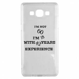 Samsung A5 2015 Case I'm not 60