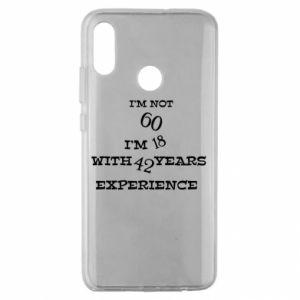 Huawei Honor 10 Lite Case I'm not 60