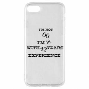 iPhone SE 2020 Case I'm not 60