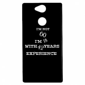 Sony Xperia XA2 Case I'm not 60