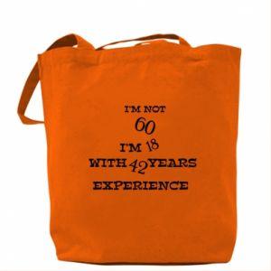 Bag I'm not 60