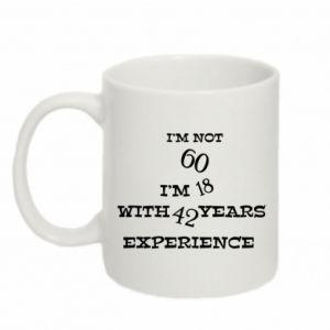 Mug 330ml I'm not 60