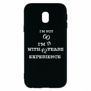 Phone case for Samsung J3 2017 I'm not 60