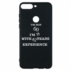 Phone case for Huawei Y7 Prime 2018 I'm not 60