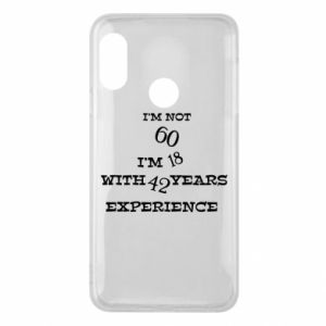 Phone case for Mi A2 Lite I'm not 60