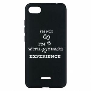 Xiaomi Redmi 6A Case I'm not 60