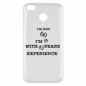 Xiaomi Redmi 4X Case I'm not 60
