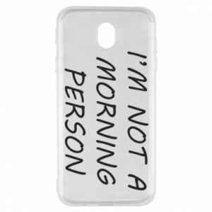 Etui na Samsung J7 2017 I'm not a morning person