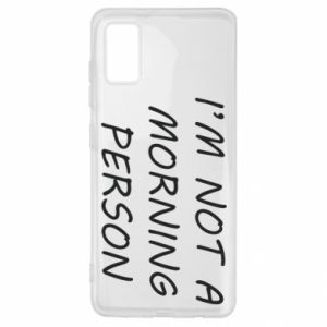 Etui na Samsung A41 I'm not a morning person