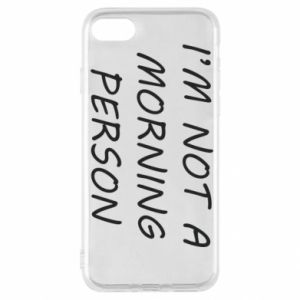 Etui na iPhone SE 2020 I'm not a morning person