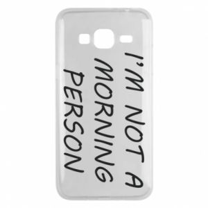Etui na Samsung J3 2016 I'm not a morning person